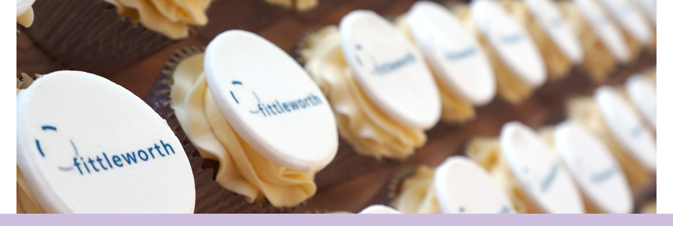 Printed Logo Cupcakes and Cakes