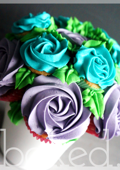 Cupcake Bouquet North East
