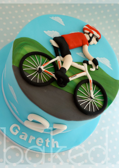 Cake Design Bike : Baked Cupcakery - North East Cupcakes and Cakes from ...