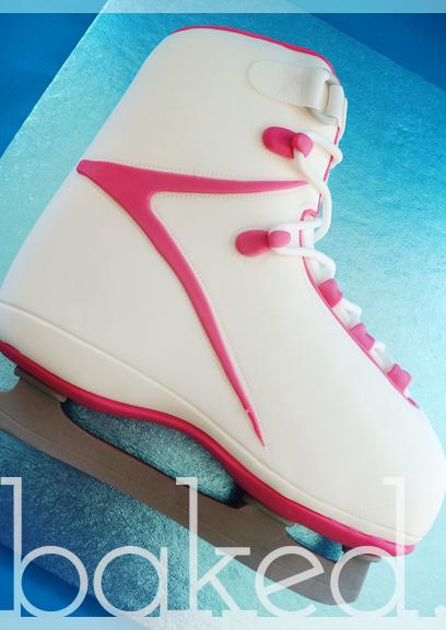 Ice Skating Cupcakes Ice Skating Cake