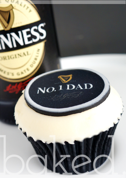 Guinness Father's Day Cupcakes