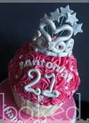 Princess Giant Cupcake Cake