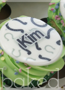 Personalised Name Cupcakes